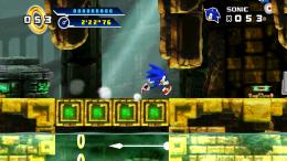 Sonic 4 Episode I - геймплей