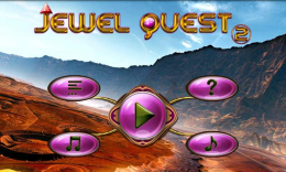 Jewel Quest 2 - меню