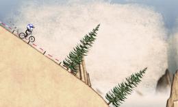 Stickman Downhill - спуск