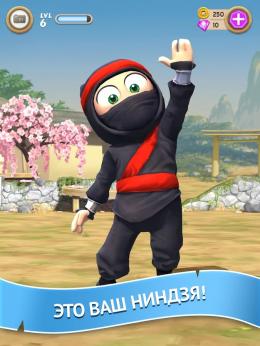 Clumsy Ninja - ниндзя