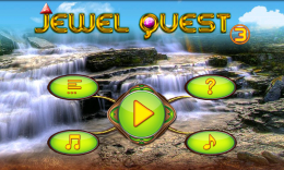 Jewel Quest 3 - меню