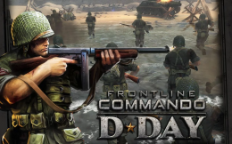 FRONTLINE COMMANDO: NORMANDY - заставка