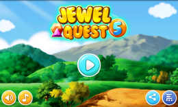 Jewel Quest 5 - меню