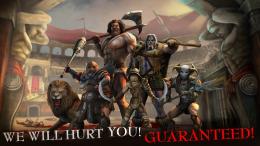 I, Gladiator - герои