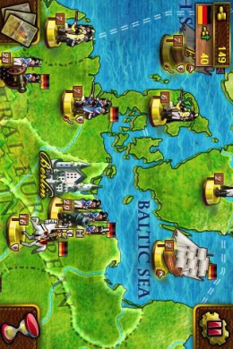European War - карта