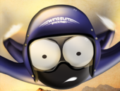 Wingsuit Stickman - иконка