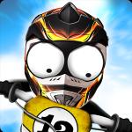 Stickman Downhill - Motocross - иконка
