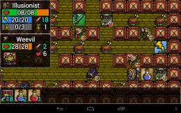 Dungeon Ascendance - битва