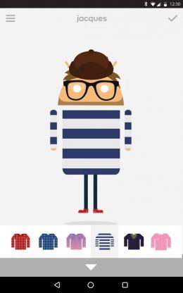 Androidify - персонаж