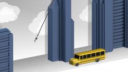 Rope'n'Fly 4 - автобус
