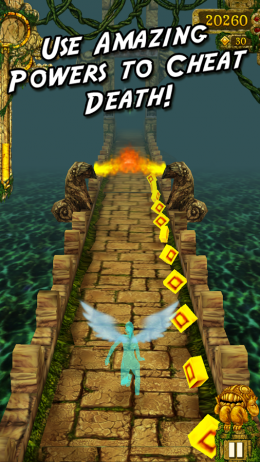 Temple Run - геймплей