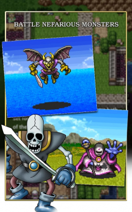 DRAGON QUEST II - враги