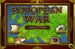 European War - меню