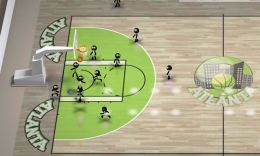 Stickman Basketball - игра