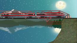 Bridge Architect - поезд