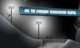 Stickman Ski Racer - ночь