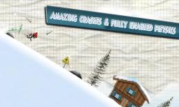 Stickman Ski Racer - спуск
