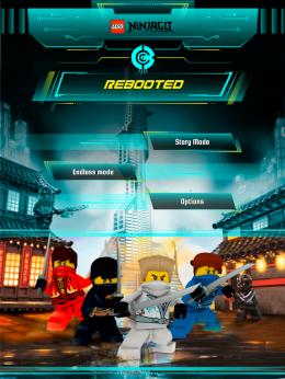 LEGO® Ninjago REBOOTED - меню
