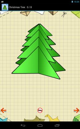 Cхемы Оригами - елка