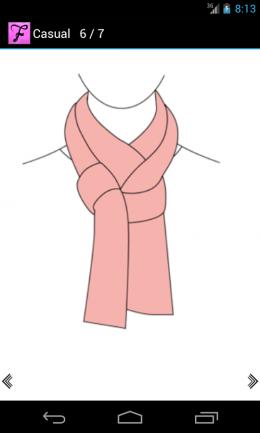 Как завязать шарф - инструкция