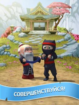 Clumsy Ninja - мастер