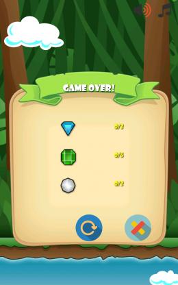 Jungle Monkey 5 - игра окончена
