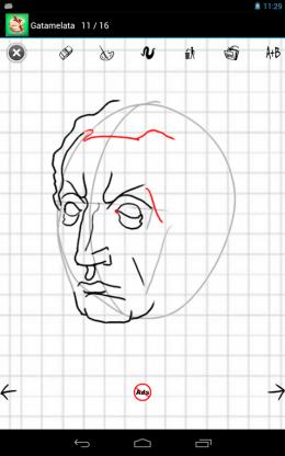 Как рисовать - лицо