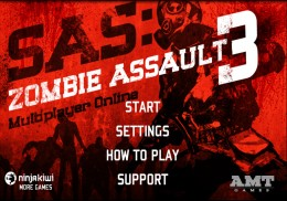 SAS: Zombie Assault 3 - меню