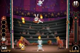 Геймплей - Stunt Bunnies Circus для Android