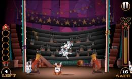 Кролики - Stunt Bunnies Circus для Android