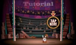 Обучение - Stunt Bunnies Circus для Android
