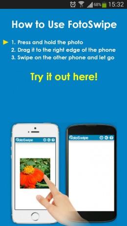 Устройства - FotoSwipe для Android
