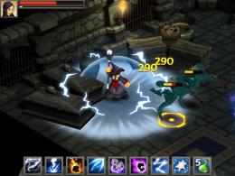 Бой - Battleheart Legacy для Android