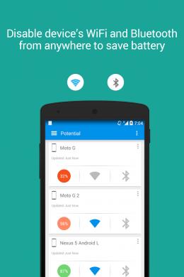 Интерфейс - Potential Beta для Android