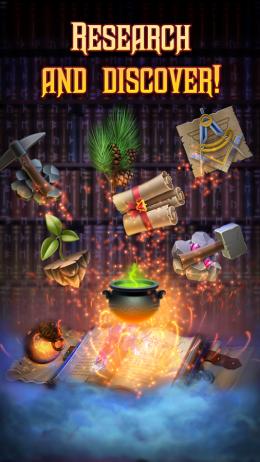 Огонь - Magecraft: The War для Android
