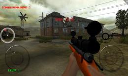 Геймплей - Zombie Sniper для Android