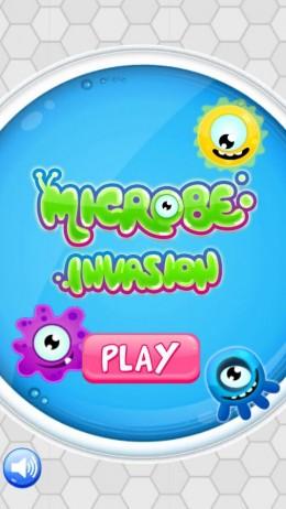 Меню - Microbe Invasion для Android