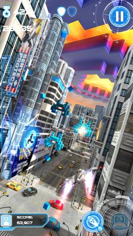 Город - Jet Run: City Defender для Android