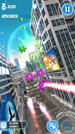 Бой - Jet Run: City Defender для Android