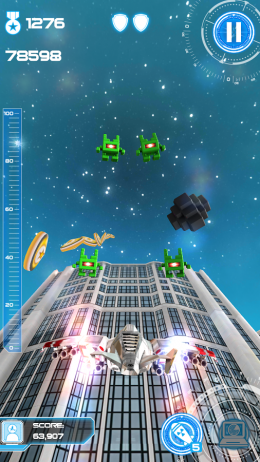 Взлет - Jet Run: City Defender для Android