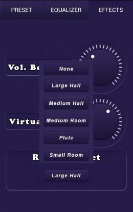 Интерфейс - Music Equalizer Pro для Android