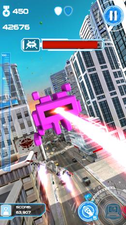 Лазер - Jet Run: City Defender для Android