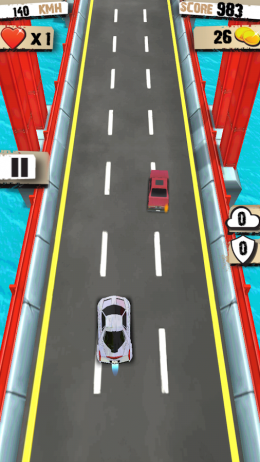 Геймплей - Speed Racing 3D для Android