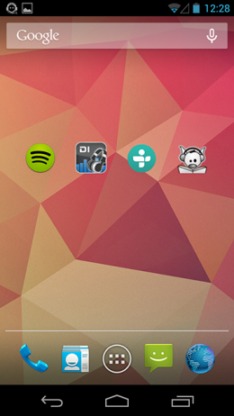 Интерфейс - Headset Menu для Android