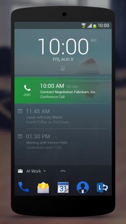 Экран блокировкиNext Lock Screen
