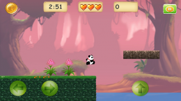 Прыжок - Jungle Panda Run для Android