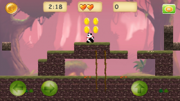 Монетки - Jungle Panda Run для Android