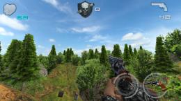 Лес - Hunter Strike Cell для Android