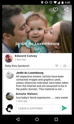 Комментарии - 8tory Gallery для Android