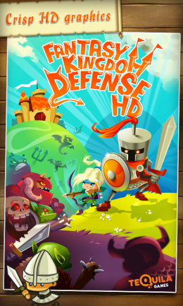 Fantasy Kingdom Defense HD - заставка
